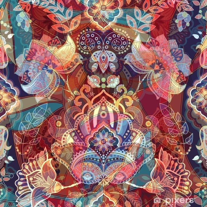 Papier peint vinyle Lumière seamless coloré - Plantes et fleurs