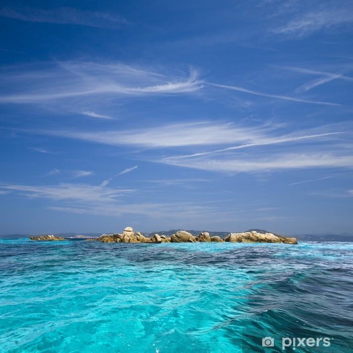 Pixerstick Aufkleber Archipel von La Maddalena, Sardinien - Freiluftsport