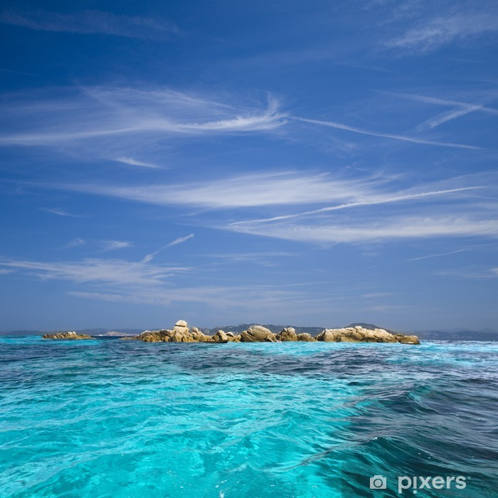 Vinyl Fotobehang Archipel van La Maddalena, Sardinië - Buitensport