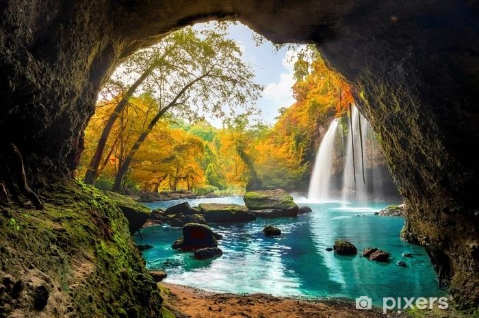 Fototapeta zmywalna Heo suwat waterfall - Krajobrazy