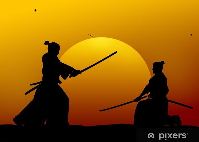 Samurai Pixerstick tarra -