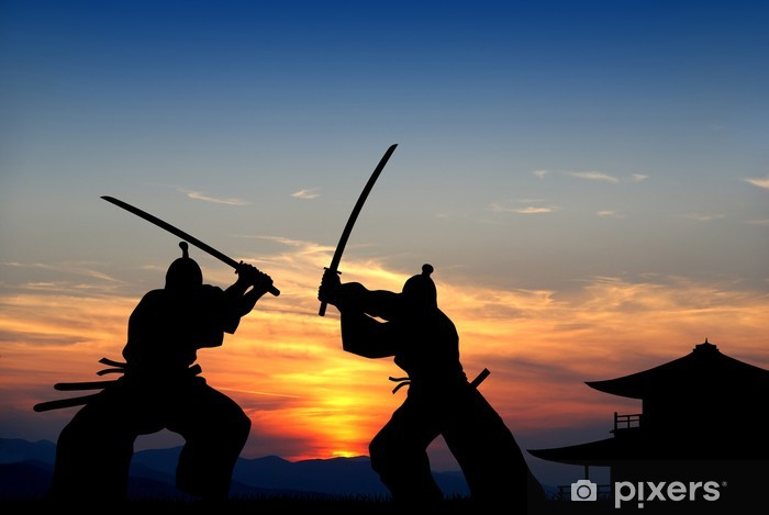 Naklejka Pixerstick Samuraj - Style