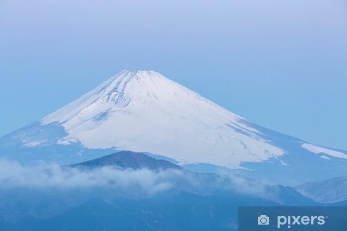Naklejka Pixerstick Fuji Mountain Lake Hakone Sunrise - Podróże