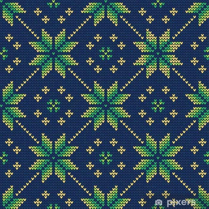 Afwasbaar Fotobehang Pattern9 Sweater Kerstmis - Grafische Bronnen