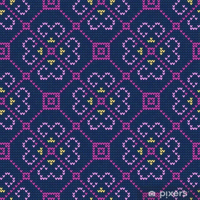 Sticker Pixerstick Christmas Sweater Pattern9 - Ressources graphiques