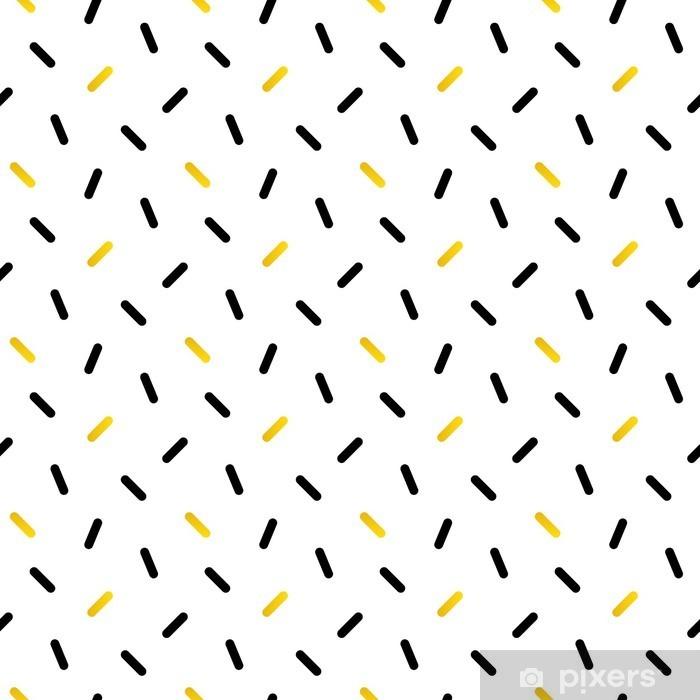 Papier Peint Noir Mignon Et De Confettis D Or Geometrique Seamless