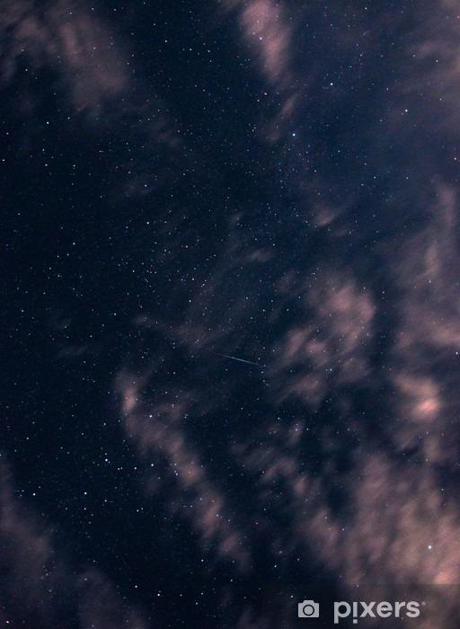 Fototapet av Vinyl Stjärnorna bland molnen - Landskap