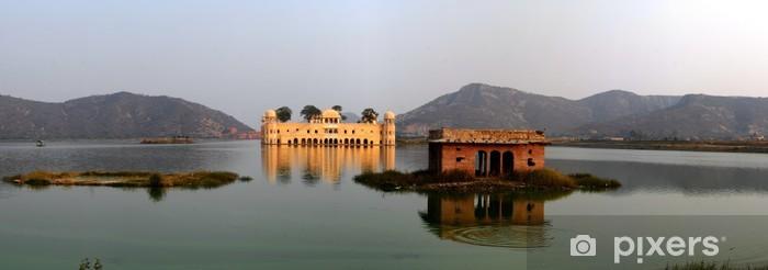 Naklejka Pixerstick Jaipur, woda pałac - Azja