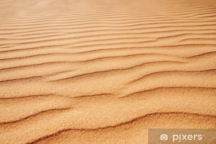 Sticker Pixerstick Closeup texture de sable. photo avec soft focus - Paysages