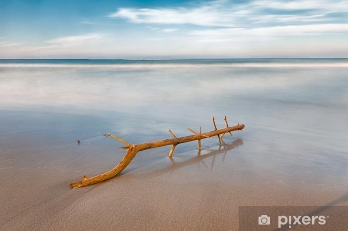 Fototapeta winylowa Długa ekspozycja na plaży - Krajobrazy