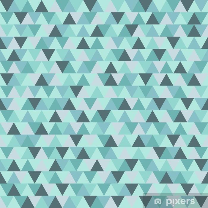 Papier peint vinyle Motif de triangle de Noël Résumé, bleu gris hiver géométrique vacances fond - Ressources graphiques