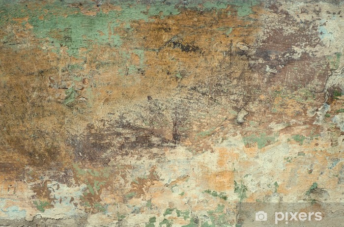 Old stone wall texture background Vinyl Wall Mural - Graphic Resources