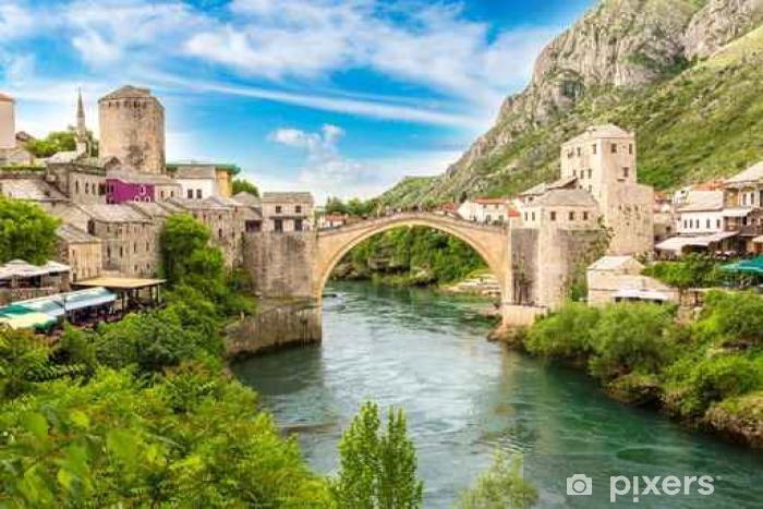 Fototapeta winylowa Stary most w Mostarze - Podróże