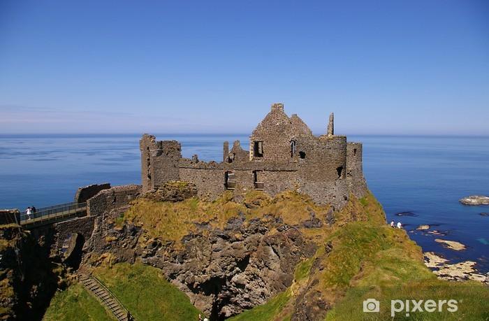 Naklejka Pixerstick Dunluce Castle - Europa