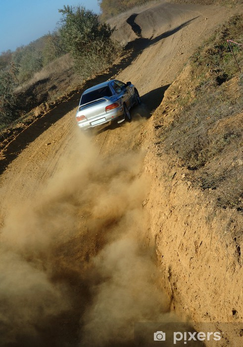 Papier peint vinyle Rallye 3 - Sports extrêmes