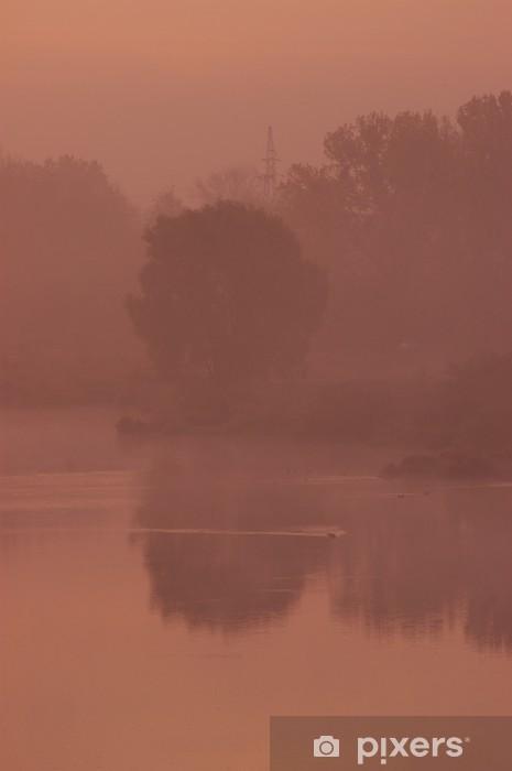 Fototapeta winylowa Świt - Krajobraz wiejski