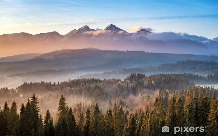 Zelfklevend Fotobehang Tatry bielskie - Landschappen