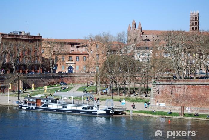 Naklejka Pixerstick Brzegi Garonne - Wakacje