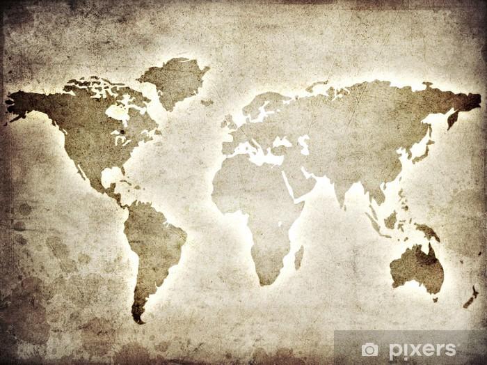 papier peint carte du monde sur le papier pixers nous. Black Bedroom Furniture Sets. Home Design Ideas