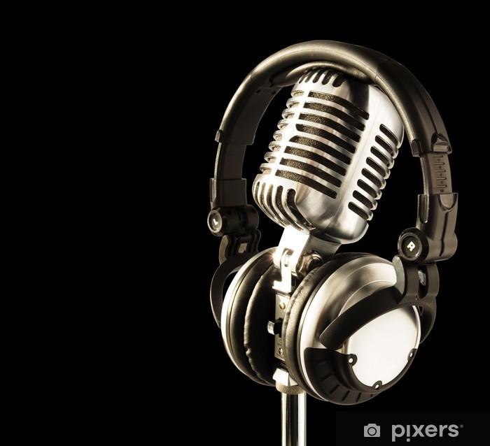 Naklejka Pixerstick Na antenie - Hip Hop
