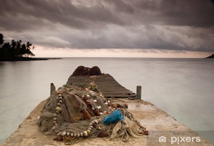 Naklejka Pixerstick Plaża Equator - Pory roku
