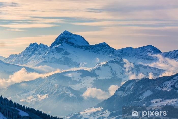 Fototapeta winylowa Zimowy krajobraz - Krajobrazy
