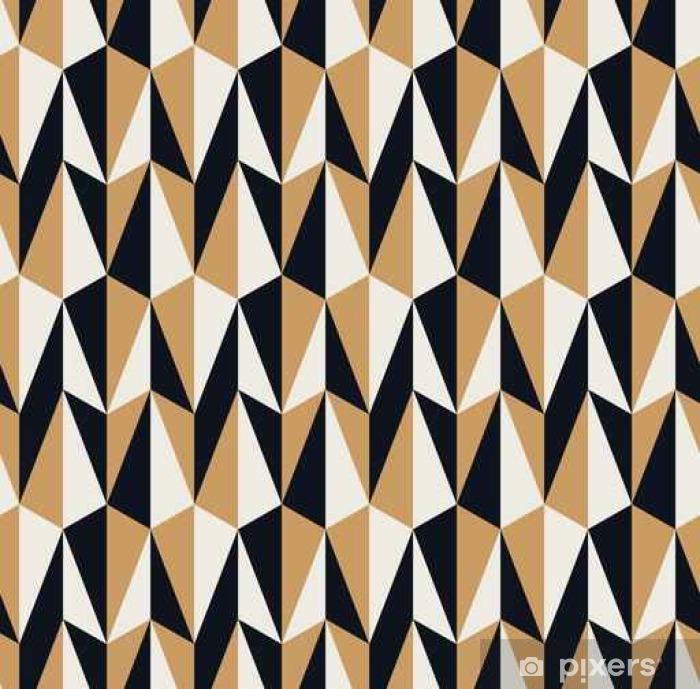 Nálepka Pixerstick Bezešvé retro vzor - Grafické zdroje