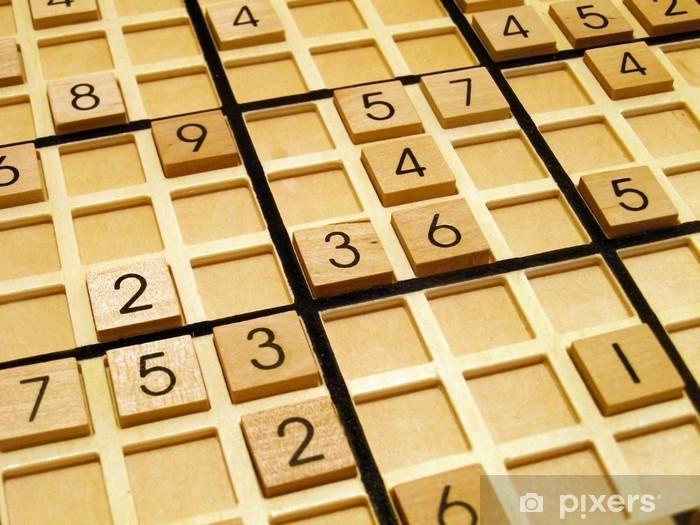 Papier peint vinyle Sudoku - Réussite