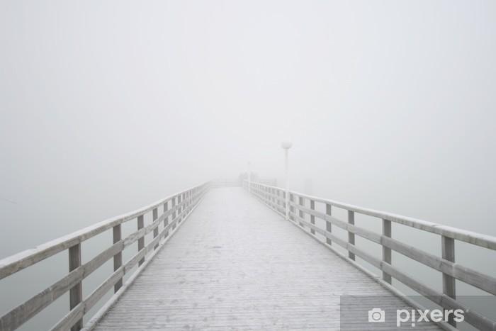 Fototapeta winylowa Grzbiet w mgle - Tematy