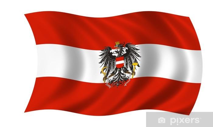 Fototapete österreich Fahne Adler österreich Flagge Adler Pixers