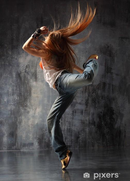 Papier peint vinyle Le danseur -
