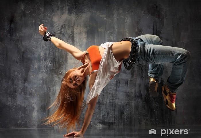Naklejka Pixerstick Tancerz - Tematy