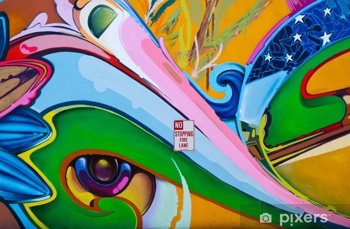 Vinyl Fotobehang Graffiti - Thema's