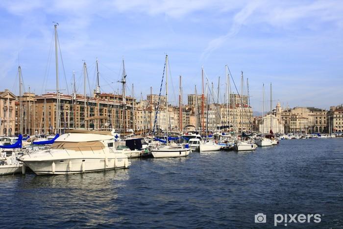Vinilo Pixerstick Viejo puerto - Infraestructuras