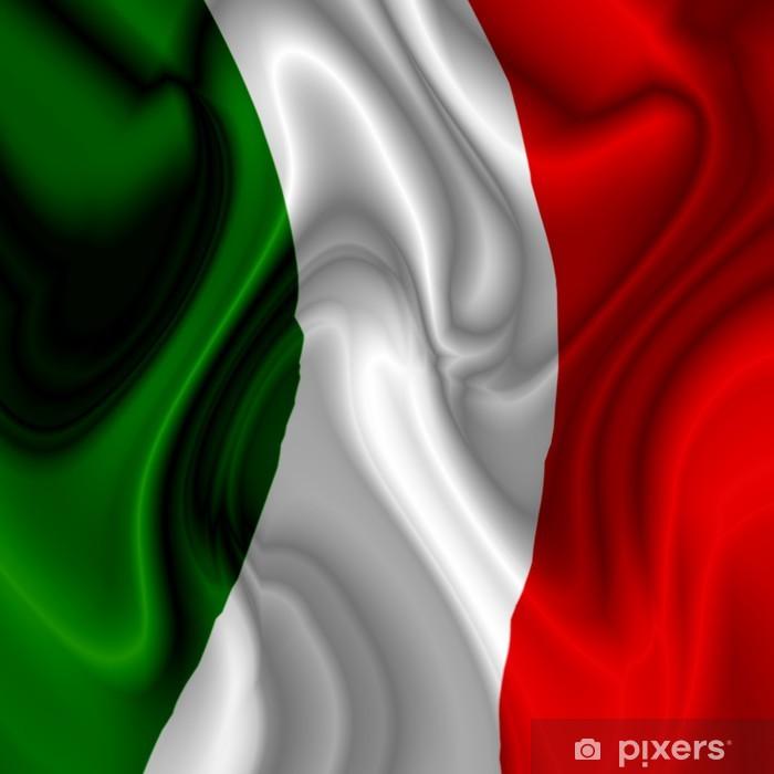 Plakat w ramie Njagi Włochy-Włochy Flag Flag Italie - Tematy