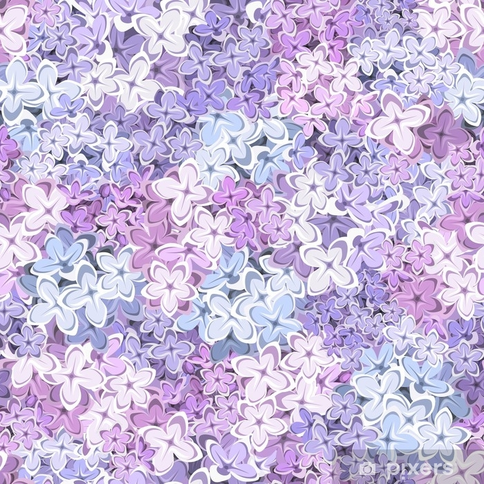 Vector Seamless Background With Purple Pink And Blue