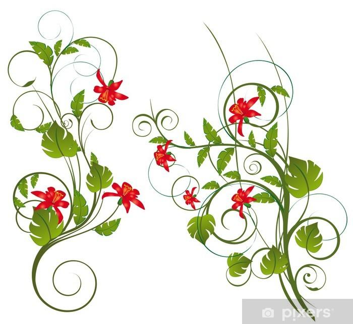 Fleurs exotique Juliste - Taustat