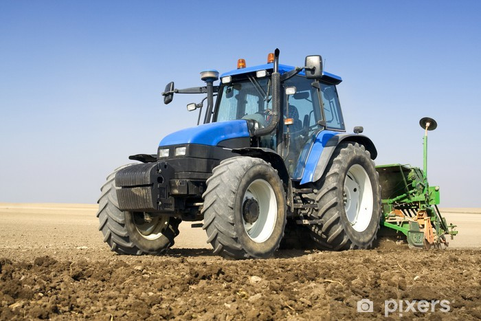 Agriculture - Tractor Vinyl Wall Mural - Themes