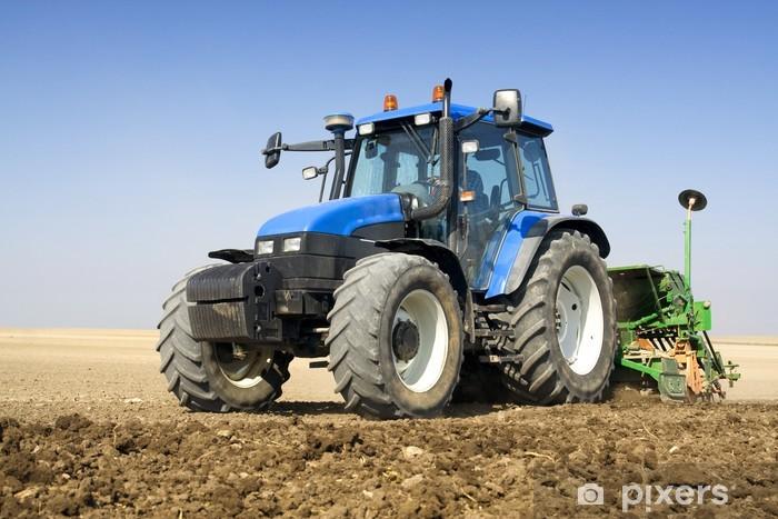 Zelfklevend Fotobehang Landbouw - trekker - Thema's
