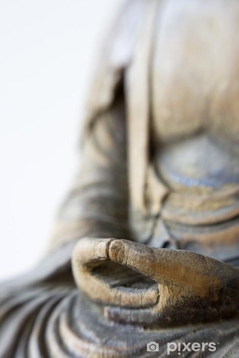 Carta da Parati in Vinile Mani di Buddha - Religioni