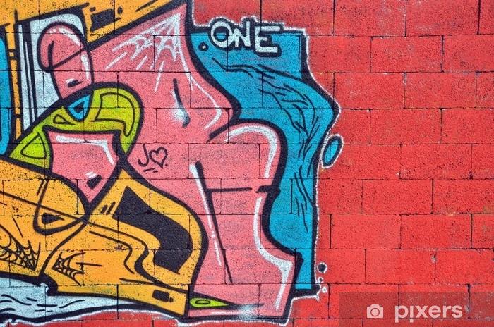 Fototapeta samoprzylepna Ściana opryskana graffiti - Zasoby graficzne