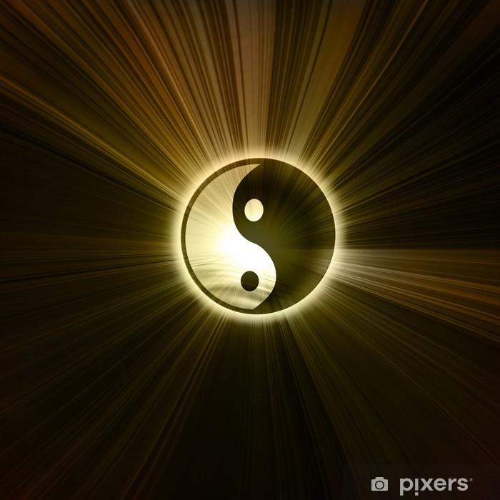 Adesivo Pixerstick Yin Yang segno - Criteo