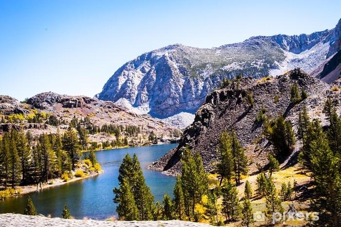 Fototapeta zmywalna Górski widok - Krajobrazy