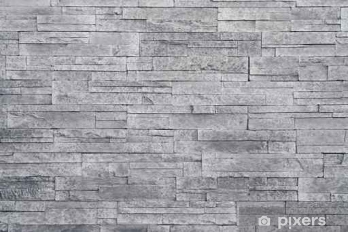 Carta da Parati in Vinile Sfondo grigio muro di pietra. piastrelle di  pietra impilati vengono spesso utilizzati in decorazioni di design  d interni come muro ... cd6b22a0cc08