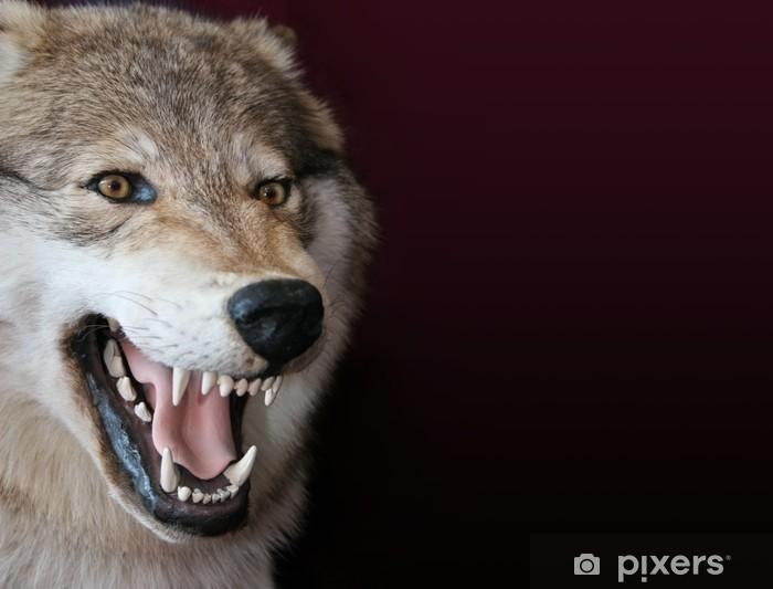 wolf Pixerstick Sticker - Themes