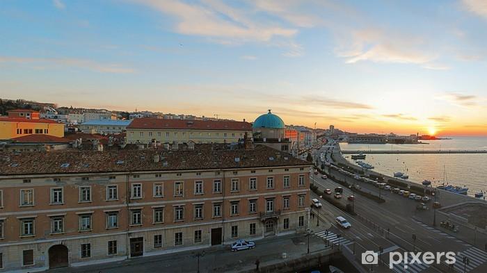 Nálepka Pixerstick Trieste, panorama z kanceláře - Jiné