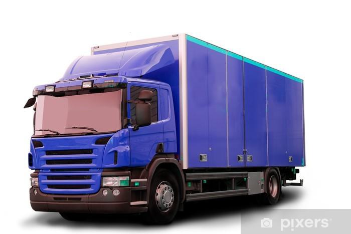 Vinylová fototapeta Isolated Traktor Truck - Vinylová fototapeta
