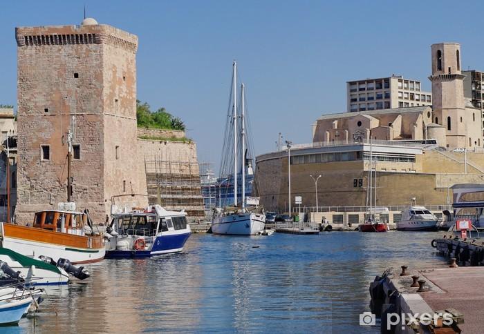 Fototapeta winylowa Marseilles - Wakacje