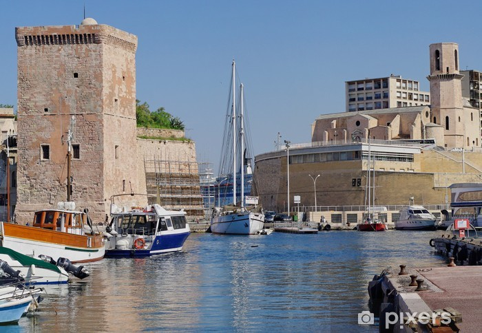 Sticker Pixerstick Marseilles - Vacances
