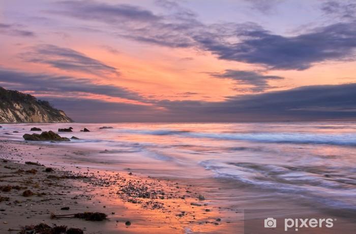 Fototapeta winylowa Zachód słońca w Santa Barbara - Tematy